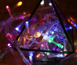 10 Metre Dekoratif İp Led Işık   Sabit - Animasyonlu Yılbaşı Süs - Thumbnail