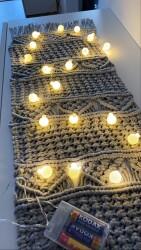 2 Metre Pilli Dekoratif Top Led Işık Süs - Thumbnail