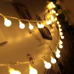 Ledreyon - 5 Metre Dekoratif Top Led Fişli Yılbaşı Süs Led Işık