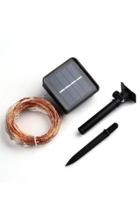 5 Metre Güneş Enerjili Solar Dış Mekan Peri İp Led Işık
