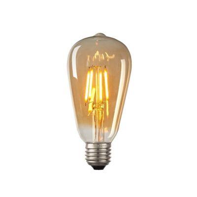 6W Flamanlı Rustik Edison Ampul