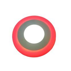 Ledreyon - 6W Çift Renkli Sıva Altı Yuvarlak Led Panel