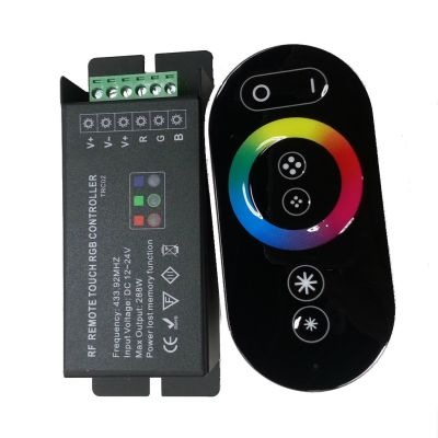 Rgb Şerit Led Dokunmatik Kumanda | 3x6A Kontrol Cihazı