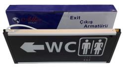 Ledreyon - Şarjlı Led Tuvalet WC Tabelası